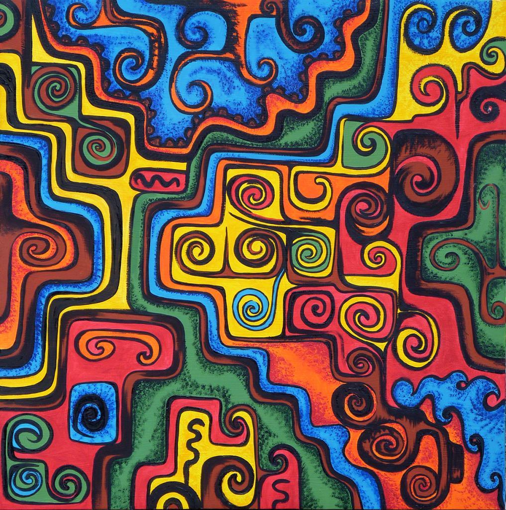 Les peintures de Myriam VITALI