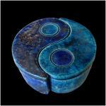 Boite turquoise