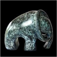 Elephant bleu 2