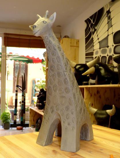 Girafe raku
